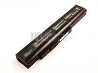 Batería para MSI A6400 Series, CR640 Series, Akoya E6201 Series, Akoya E6221 Series, Akoya E6222 Series