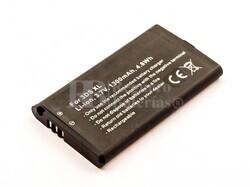 Batería para Nintendo 3DS XL, Li-ion, 3,7V, 1300mAh, 4,8Wh