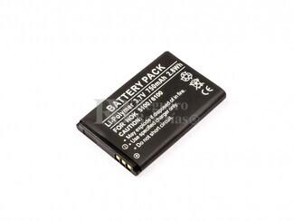 Bateria para Nokia  5100, 6100, Li-Polymer, 3,7V, 750mAh, 2,8Wh