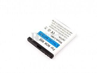 Bateria para Nokia 6290, E65, N93i, N95, Li-ion, 3,7V, 650mAh, 2,4Wh