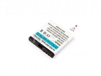 Bateria para Nokia 6500 classic, 7900 Prism, Li-ion, 3,7V, 700mAh, 2,6Wh