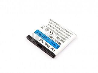 Batería BP-5Z para teléfonos Nokia 700