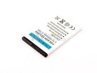 Batería BP-4L para teléfonos Nokia E61i, E90,