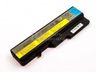Bateria para ordenador LENOVO G560, G575, Li-ion, 10,8V, 5200mAh, 56,2Wh, Negro