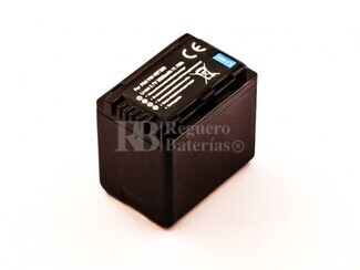 Batería para Panasonic VW-VBT380, Li-ion, 3,7V, 3000mAh, 11,1Wh, decoded