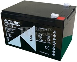 Batería para Patín 12 Voltios 12 Amperios 180 Amperios máxima descarga