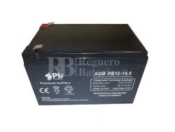 Batería para Patines Eléctricos 12 Voltios 14.5 Amperios Premium Battery
