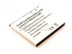 Batería para PDA HP Com iPAQ hx2000, hx2100