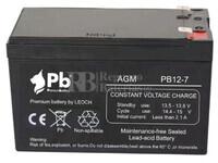 Batería para SAI 12 Voltios 7 Amperios PB12-7