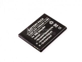 Batería para Samsung Galaxy Mini, Li-ion, 3,7V, 1100mAh, 4,1Wh