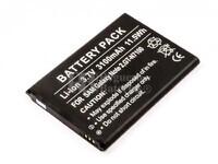 Bateria para Samsung Galaxy Note II, GT-N7100, Li-ion, 3,7V, 3100mAh, 11,5Wh