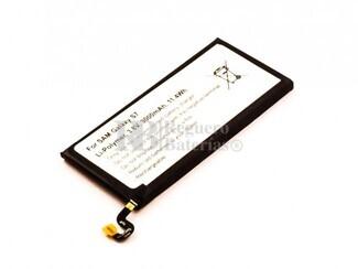 Bater�a para Samsung Galaxy S7, Li-Polymer, 3,8V, 3000mAh, 11,4Wh,