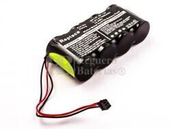 Batería para Scopemeter Fluke 123, BP130, NiMH, 4,8V, 3000mAh