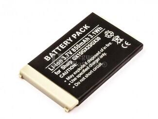 Bateria para SHARP GX15 GX25 GX30 GX30i TM200