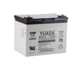 Batería para Silla de Ruedas Yuasa REC36-12I Ciclica 12 Voltios 36 Amperios