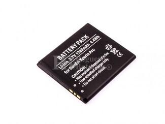 Bateria para Sony XPERIA X12, XPERIA ARC S, XPERIA ARC, BA750, LT15I, LT15A, ANZU