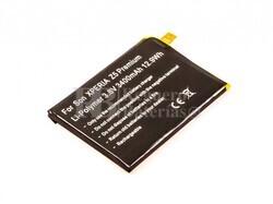 Batería para Sony XPERIA Z5 Premium, Li-Polymer, 3,8V, 3400mAh, 12,9Wh
