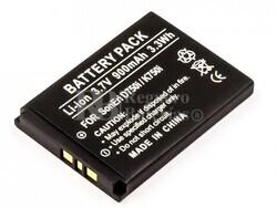 Batería BST-37 para teléfonos SonyEricsson W700I, W600, W550I, W350I,.