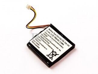 Batería para TomTom 4EH51, VIA 120, VIA 150, VIA Live, 6027A0117401, KM1