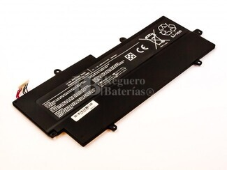 Bateria para Toshiba Portege Z830 Ultrabook, 14,8V, 3000mAh, 44,4Wh