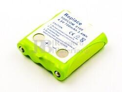 Batería para Walkie Topcom 9100 , NiMH, 4,8V, 700mAh