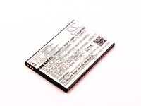 Batería para ZTE Blade L3 Li-ion, 3,8V, 2000mAh, 7,6Wh