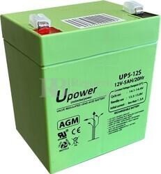 Batería Patín 12 Voltios 5 Amperios Up5-12