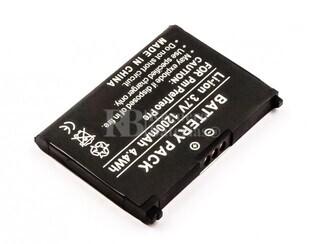 Batería Pre, Treo Pre, Li-ion, 3,7V, 1200mAh, 4,4Wh, para PDAS