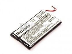 Batería PRS-600, Li-Polymer, 3,7V, 800mAh, 3,0Wh