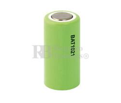 Batería recargable 1/2 AA, 2/3AA 1.2 Voltios 650 mAh