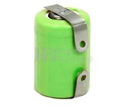 Batería recargable 1.2 Voltios 250 mah 1/3AAA,NI-MH