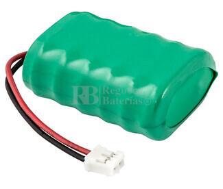 Batería Recargable 7,2 Voltios 150Mah con Conector GB150X6