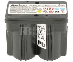 Batería Recargable Cyclon 4 Voltios 2.5 Ah Conexión Rápida 0819-0010