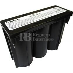 Batería Recargable Cyclon 6 Voltios 8 Ah Conexión Rápida 0859-0012