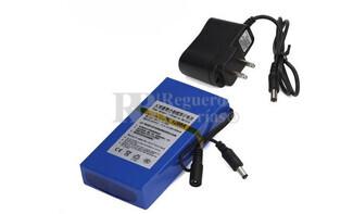 Bateria Recargable de Litio 12 Voltios 9.8 Amperios 130x65x25 mm