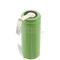 Batería recargable Ni-Mh 4/5A 1.2 Voltios 1.800 mAh C/Lengüetas