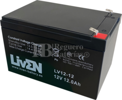 Batería SAI 12 Voltios 12 Amperios
