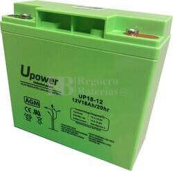 Batería SAI 12 Voltios 18 Amperios UP18-12