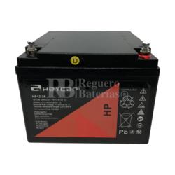 Batería SAI 12 Voltios 26 Amperios HEYCAR HP12-26