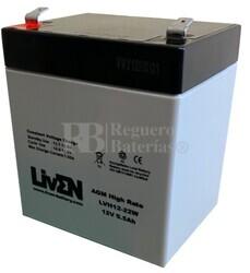 Batería Sai 12 Voltios 5,5 Amperios LVH12-22