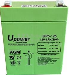 Batería SAI 12 Voltios 5 Amperios UP5-12