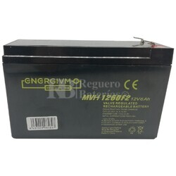 Batería SAI 12 Voltios 6 Amperios Energivm MVH1260F2