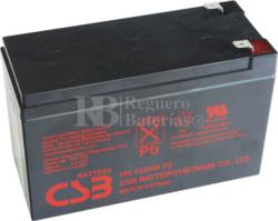 Batería para SAI UPS 12 Voltios 9 Amperios HR1234 WF2