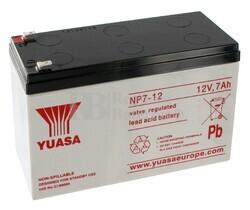 Batería SAI Yuasa NP7-12 12 Voltios 7 Amperios