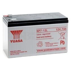 Batería SAI Yuasa NP7-12L 12 Voltios 7 Amperios