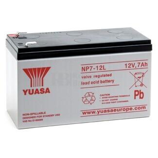 Batería SAI Yuasa NP7-12L 12V 7 Amperios F6.35mm