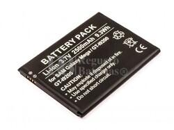 Batería, Galaxy Mega 6.3, GT-I9200, GT-I9205, para telefonos Samsung, Li-ion, 3,7V, 2500mAh, 9,3Wh