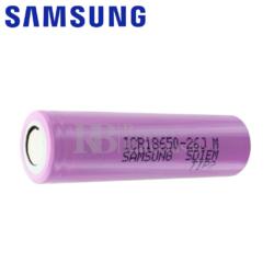 Batería Samsung ICR18650-26J 2.600 mAh 5,2Ah
