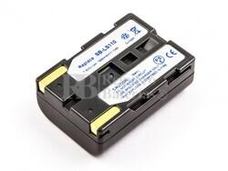 Batería SB-LS110, Li-ion, 7,4V, 1500mAh, 11,1Wh para camaras Samsung
