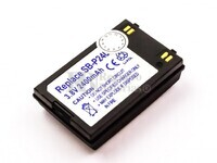Batería SB-P240ABK para cámaras Samsung SC-X210L, SC-X210WL, SC-X220L, SC-X300, SC-X300L, VP-X205L,